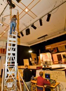 Höga höjder när ljusteknikerna fixar allt rätt. Foto: Jens Hunt