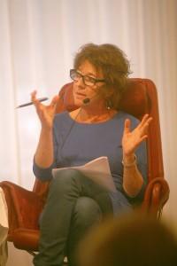 Margit Silberstein var moderator. Foto: Lukas Norrsell.