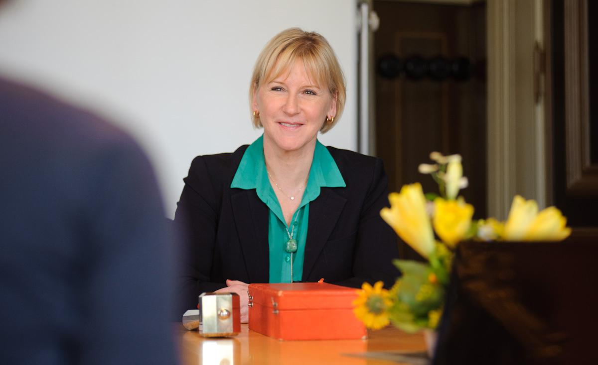 Margot Wallström är ny styrelseordförande för Lunds universitet. Foto: Jonas Jacobson.