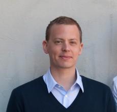 Erik Pedersen, vice ordförande i Sveriges Förenade Studentkårer.