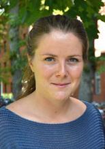 Clara Lundblad, ordförande för Lunds universitets studentkårer.