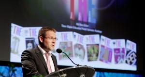 Phil Baty, redaktör för Times Higher Education. Foto: Pressphoto