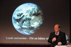 Rektor Per Eriksson hoppas på tre miljarder i donationer. Foto: Carl-Johan Kullving/Xche Balam