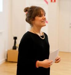 Mikaela Färnqvist är verksamhetsledare på Venture Lab. Foto: Sigrid Rosell