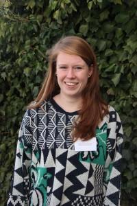 Nina van Douwen, sekreterare i studentkåren vid Amsterdams universitet. Foto: Carl-Johan Kullving
