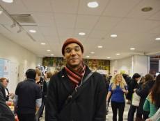 Erik Arroy, ordförande för Sveriges Förenade Studentkårer. Foto: Jens Hansen