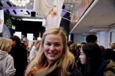 Amanda Forser är 20 år och studerar danska. Foto: Jens Hansen
