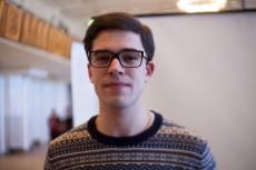 Johan Kullenbok, litteraturstudent.