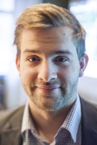Björn Hansson, ordförande för Teknologkåren. Arkivfoto. Jens Hunt