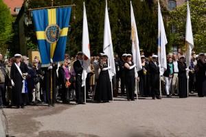 Rektorsuppvaktningen 2014. Foto: Daniel Kodipelli