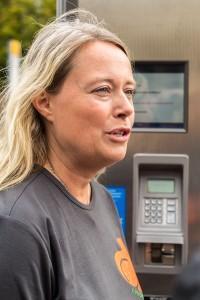Åsa Tyni är marknadskoordinator för Lånecyklarna i Lund.