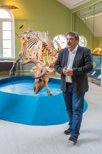 – Vi erbjuder en resa i universitetets och vetenskapens historia, säger Historiska museets chef Per Karsten. Foto: Thobias Bergström.