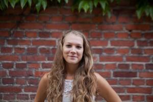 Sanna Jugeland är eventkoordinator på Samhällsvetarkåren. – Free store riktar sig inte bara till Samhällsvetarkårens studenter, utan alla internationella studenter får komma, säger hon. Foto: Jens Hansen.