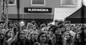 Silvana Imam på Indigo 20, Blekingska nationen. Foto: Thobias Bergström