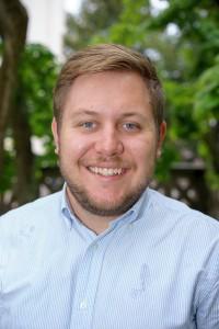 Sebastian Persson, vice ordförande för Lunds universitets studentkårer. Foto: Jonas Jacobson