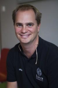 Johan Zetterberg är forskare på Fysicum. Foto: Jens Hunt.