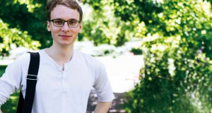 Dmitri Ivanov har varit nykter fadder under nollningen på LTH. Foto: Jens Hunt.