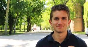 – Den här terminen har varit ett finansiellt helvete, säger lundastudenten Henrik Pehrson. Att få ekonomin att gå ihop som student kan vara svårt. Foto: Carl-Johan Kullving.