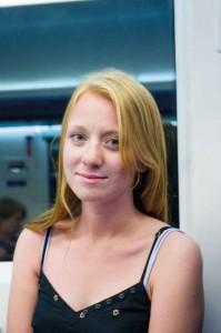 Anastasia Veresotskaya var med när revolutionen spreds till hennes universitet.  Foto: Daniel Kindstrand.