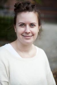 Ida Moen Larsson är kurator på Lunds nation. Foto: Jens Hunt.