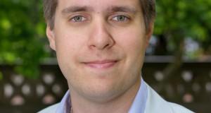 Oskar Styf är ordförande för Lunds universitets studentkårer.  Foto: Jonas Jacobson.