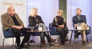 Debatt i Lund. Foto: Marcus Bornlid