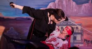 """Hallandsspexet sätter upp """"Zorro"""". Foto: Saga Sandin"""