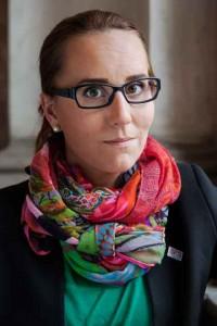 Rebecka Stenkvist, ordförande för Sveriges förenade studentkårer.  Foto: Pressbild/SFS