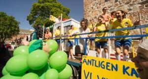 Karnevalståget lockade hundratusentals besökare till Lund i maj tidigare i år. Den 28 maj ska Karnevalsorganet fatta nytt beslut om stadgeändringar för Lundakarnevalen. Foto: Jonas Jacobson.