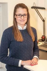 Petra Holst är studentombud. Foto: Lukas J. Herbers