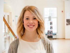 Sara Ljungdahl är en av arrangörerna. Planeringen har pågått sen oktober. Foto: Elin Sivard