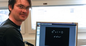Matematiklektorn Jonas Månsson på Lunds tekniska högskola har fått pris för sin goda pedagogik. Foto: Beri Zangana