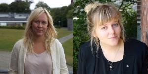 Cecilia Skoug och Linnea Jacobsson är nominerade till Lunds universitets studentkårers presidium. Foto: Arkiv/Privat