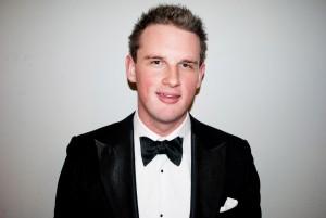 Fredrik Grotte, kurator på Östgöta nation. Foto: Privat