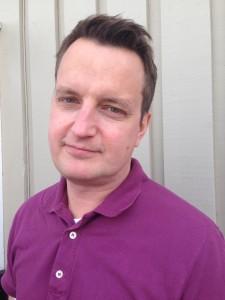 Klas Elfving är presschef på CSN. Foto: Privat