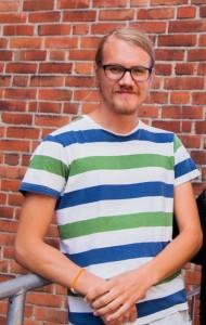 Mattias Torstensson är stationschef på Radio AF. Foto: Arkiv/Carl-Johan Kullving