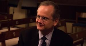 Professor Lawrence Lessig kämpar mot myndighetskorruptionen i USA. Foto: Christina Zhou