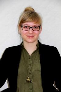 Linn Hansen, chefredaktör för studenttidningen Tofsen. Foto: Privat