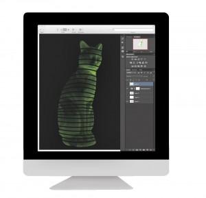 1: I ett 3D-program som CAD ritas en idé som förklarar för skrivaren exakt hur skrivarhuvudet ska röra sig för att skapa föremålet, lager för lager.
