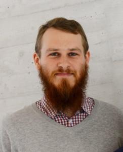 Martin Nykvist, ordförande för Humanistiska och Teologiska doktorandrådet. Foto: Kristina Strand Larsson