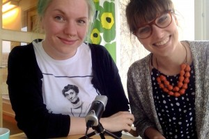 Sara Kalucza och Moa Eriksson är doktorander i sociologi på Umeå universitet. Tillsammans driver de Doktorandpodden. Foto: Privat
