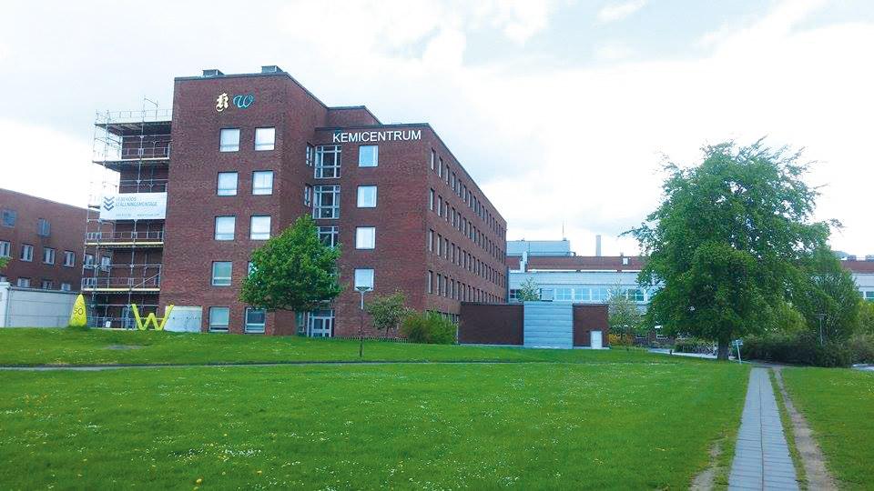 Kemicentrum på LTH.  Foto: Casper Danielsson.