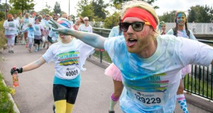 The Color Run i Lund. Foto: Christina Zhou