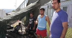 Bild från Lesbos, Grekland. Foto: Tindra Englund