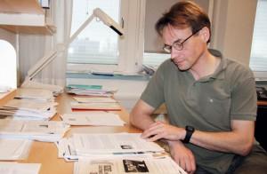 Markuu Rummukainen är klimatexpert i FN:s klimatpanel IPCC och forskar i Lund. Foto: Tindra Englund