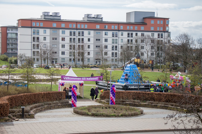 Foto från invigningen av studenthemmet Helsingborgen. Foto: Christina Zhou