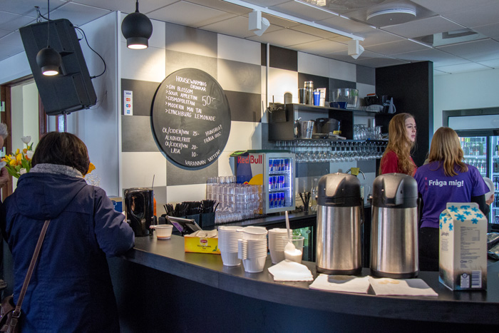 Helsingborgens bar är förstås redan up and running. Foto: Christina Zhou