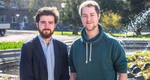 Björn Sanders och Jack Senften ska axla ansvaret som ordförande för Lunds universitets studentkårer. Foto: Christina Zhou