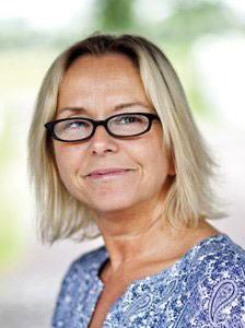 Förvaltningschef Susanne Kristensson. Foto: Lunds universitet.