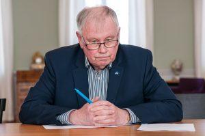 Ulf Nilsson (L) är inte nöjd med hur kommunen har förvaltat studenterna i Lund. Foto: Lukas J. Herbers